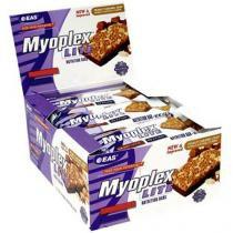 Barra de Proteína Barra Myoplex Lite 12 Unidades - EAS - Caramelo e Chocolate