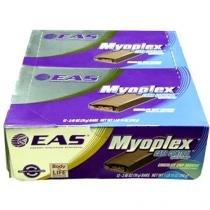Barra de Proteína Myoplex Carb Control 12 Unidades - EAS - Chocolate