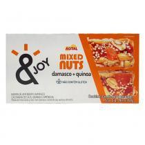 Barra Mixed Nuts Damasco e Quinoa c/2  - Agtal -