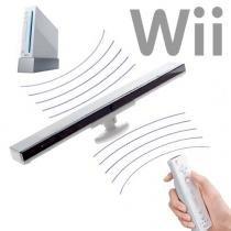 Barra Sensor BAR sem Fio com Base Nintendo Wii +infravemelho com Base - Alba eletronicos