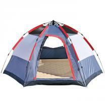 Barraca camping montagem automátia 5 pessoa - Mor