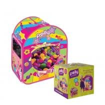 Barraca com 100 Bolinhas Polly Pocket - Fun Divirta-Se - Polly Pocket