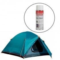 Barraca de Camping Colorado GT 3/4 Nautika + Impermeabilizante para Barracas Coleman - Nautika