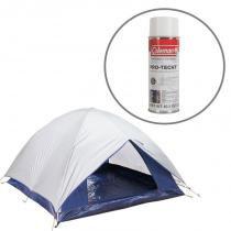 Barraca de Camping Dome 3 Pessoas Nautika + Impermeabilizante para Barracas Coleman - Nautika