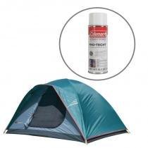 Barraca de Camping Oregon GT 3/4 Pessoas Nautika +  Impermeabilizante para Barracas Coleman - Nautika