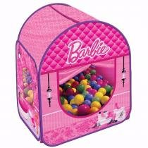 Barraca Infantil com 50 Bolinhas Barbie - Fun - Fun