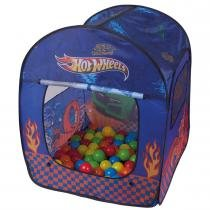 Barraca Infantil com 50 Bolinhas Hot Wheels - Fun - Fun