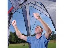 Barraca Mor para 7 Pessoas com Porta-Objetos - Sistema de Montagem Automático Spider