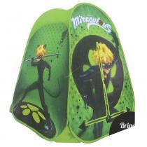Barraca portátil zippy toys bp17cn cat noir verde -