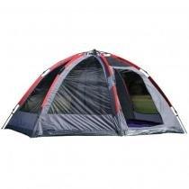 Barraca spider para acampamento camping viagem montagem automática para 7 pessoas mor -