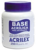 Base Acrilica para Artesanato 250ml - Acrilex -
