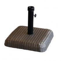 Base Concreto 30kg Para Ombrelone Revestido Rattan Sintético Bel Fix -