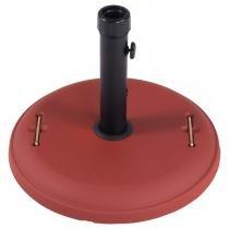 Base em Concreto 22kg para Ombrellone Vermelho 26204 - Belfix - Belfix