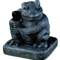Base Frog em Resina Cinza 25kg para Ombrellone 17508 - Belfix - Belfix