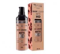 BASE LIQUIDA MATTE MAX LOVE HD 35mL 14 NUDE -