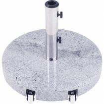 Base Redonda em Granito para Ombrellone 35kg Alça Removível 16100 - Belfix - Belfix