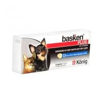 Basken Plus 4 comp Konig - Vermífugo Cães e Gatos - Konig