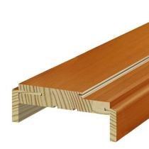 Batente de Madeira Regulável Famossul Recoberto Madeirado 14 cm a 16 cm Tauari - Famossul