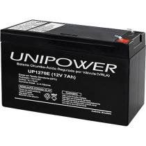 Bateria 12V 7.0Ah UP1270E F187 - Unipower - Unipower