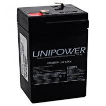Bateria 6V 4,5A UP645SEG - Unipower - Unipower