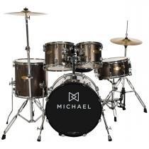 Bateria Acústica Bumbo 18 Pol - Classic Pro DM 841 CHR Michael - Michael