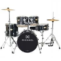 Bateria Acústica Bumbo 20 Pol - Classic Pro DM 842 BKS Michael - Michael