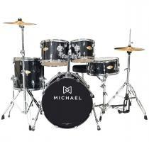 Bateria Acústica Bumbo 22 Pol - Classic Pro DM 843 BKS Michael -