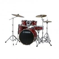 Bateria Acústica Yamaha Stage Custom Birch Cramberry Red (Shell Pack) - Yamaha