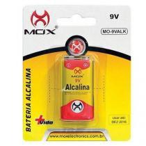 Bateria Alcalina Mox Mo-9valk 9v - DotCell