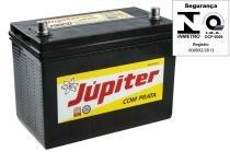 Bateria Automotiva Júpiter 90ah 12v Besta / Topic Com Prata -