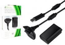 Bateria Carregador Controle Xbox 12000mah Xbox 360 Novo - Bk imports