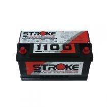 Bateria De Som Stroke Power 1100 Pico 125ah/hora Polo Positivo Direito - STROKE