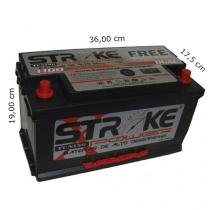 Bateria de Som Stroke Power 125ah/hora e 1100ah/pico Selada. -