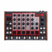 Bateria Eletrônica e Sintetizador de Baixo c/ 5 Timbres / USB / MIDI  - Rhythm Wolf AKAI - Akai