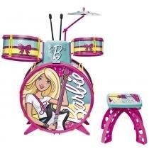 Bateria Glamourosa Barbie - Fun - Fun