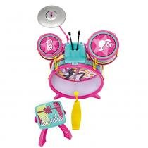Bateria Infantil da Barbie - Fun Divirta-Se - Barbie