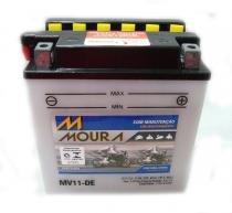Bateria moura mv11-dei/yb10l-a2 suzuki: gs 500, bandit 650, intruder 250 -