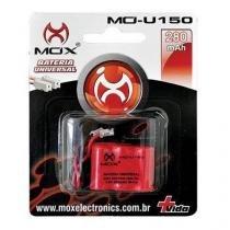 Bateria Para Telefone Sem Fio Mox Mo-U150 Plug Universal Compatível Panasonic, Ge E Toshiba 280 Mah - DotCell