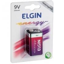 Bateria Recarregável Energy 9V 250 Mah 1Un 82215 Elgin -