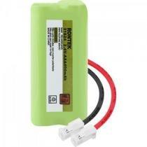 Bateria recarregavel universal para telefone sem fio nimh 600mah 2,4v rontek -