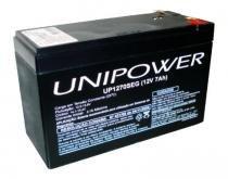 Bateria Selada para Nobreak e Sistemas de Monitoramento e Segurança - 12V / 7Ah - Unipower UP1270SEG - Diversos