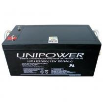 Bateria Selada VRLA 12V 250AH M8 UP122500 RT 06C075 - Unipower - Unipower
