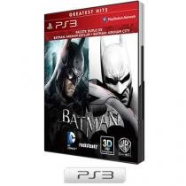 Batman Arkham Asylum + Batman Arkham City - para PS3 Warner