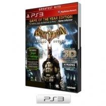 Batman Arkham Asylum para PS3 - WB Games