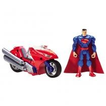 Batman Collector Superman com Moto - Mattel - Batman