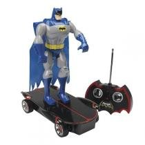 Batman Skatista Articulado Com Controle Remoto Candide - C9077 -