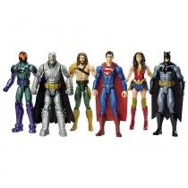 Batman Vs Superman 30cm Com 6 Bonecos - Mattel - Superman