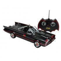 Batmóvel Clássico Série TV Rádio Controle 7 Funções - Candide - Batman