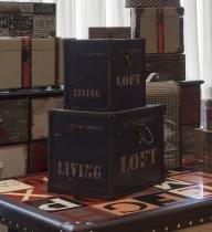 Baú de Madeira Decorativo Living Loft Médio - Maria pia casa