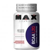 Bcaa 1,2g 120 Tabletes - Max Titanium - 3Green Technology